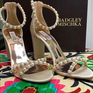 Badgley Mischka Hooper Ivory Wedding Shoe